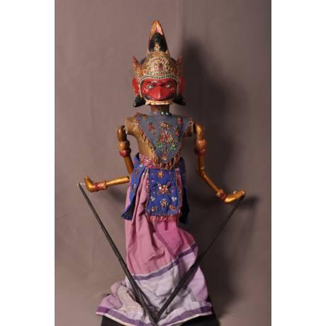 Marionnette Indonésienne Duryodhana