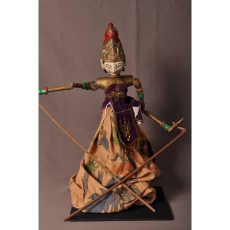 Marionnette indonésienne Sita