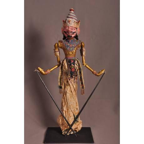 Marionnette indonésienne Karna