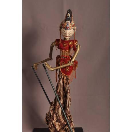 Marionnette indonésienne Arjuna