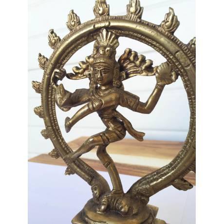 Shiva statue en bronze