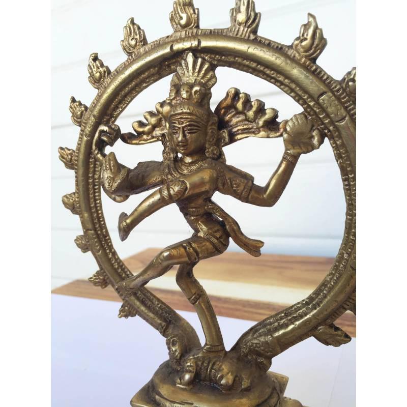Shiva Statue En Bronze By Mr Simon