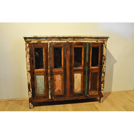 BUFFET TECK RECYCLE COLORE 4P VITREES