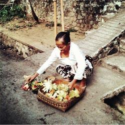 Objets d'Indonésie